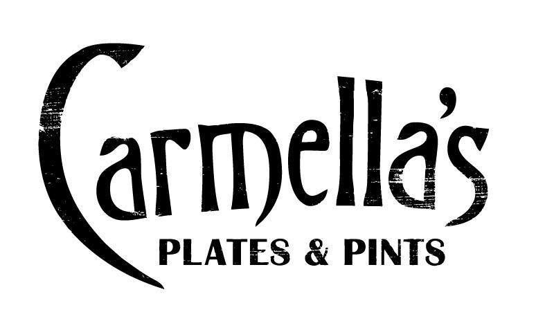 Carmella's Plates & Pints Logo