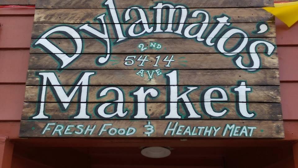 Dylamato's Market Logo